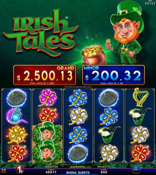 Zitro Games - Video Slot - Multigame Standalone - Irish Tales