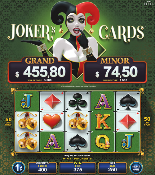 Video Slot - Multigame Standalone - Hot Deal - Jokers Cards