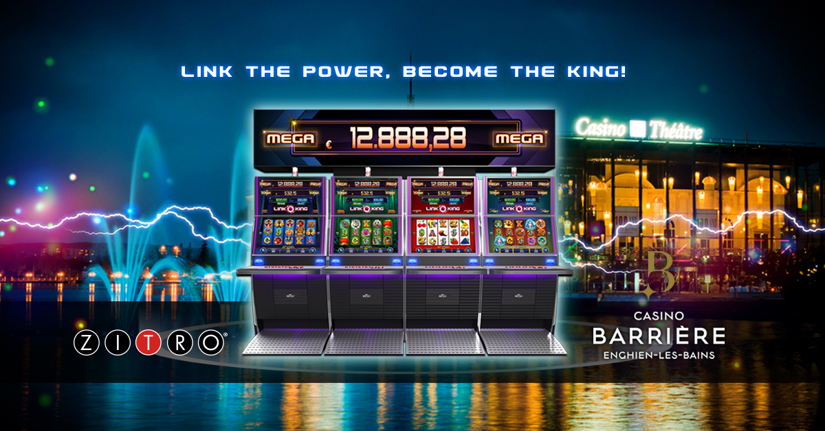 Link King arrives at the French casino in Enghien-les-Bains