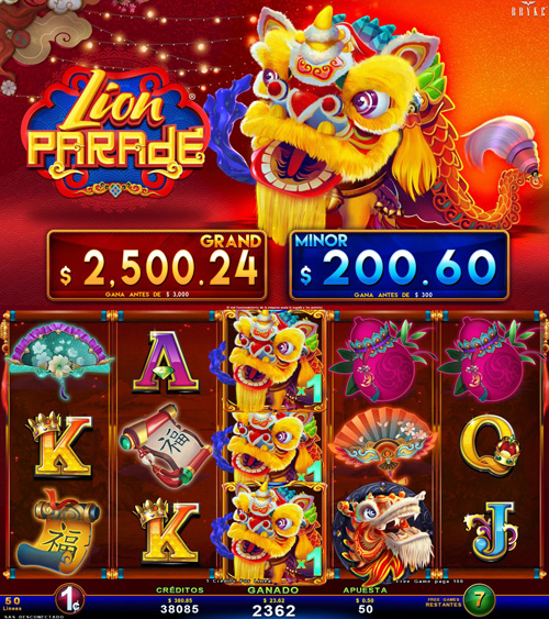 Zitro Games - Video Slot - Multigame Standalone - Lion Parade