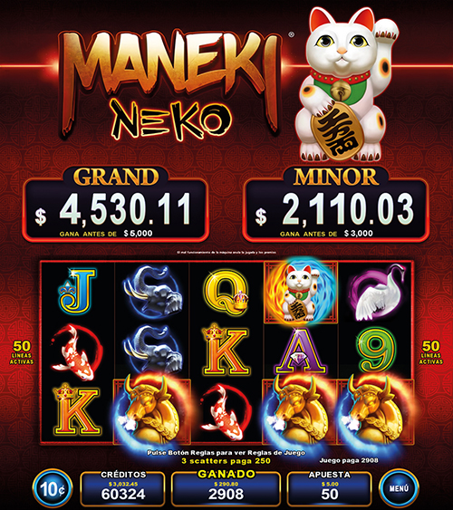Video Slot - Multigame Standalone - Pick & Win - Maneki Neko