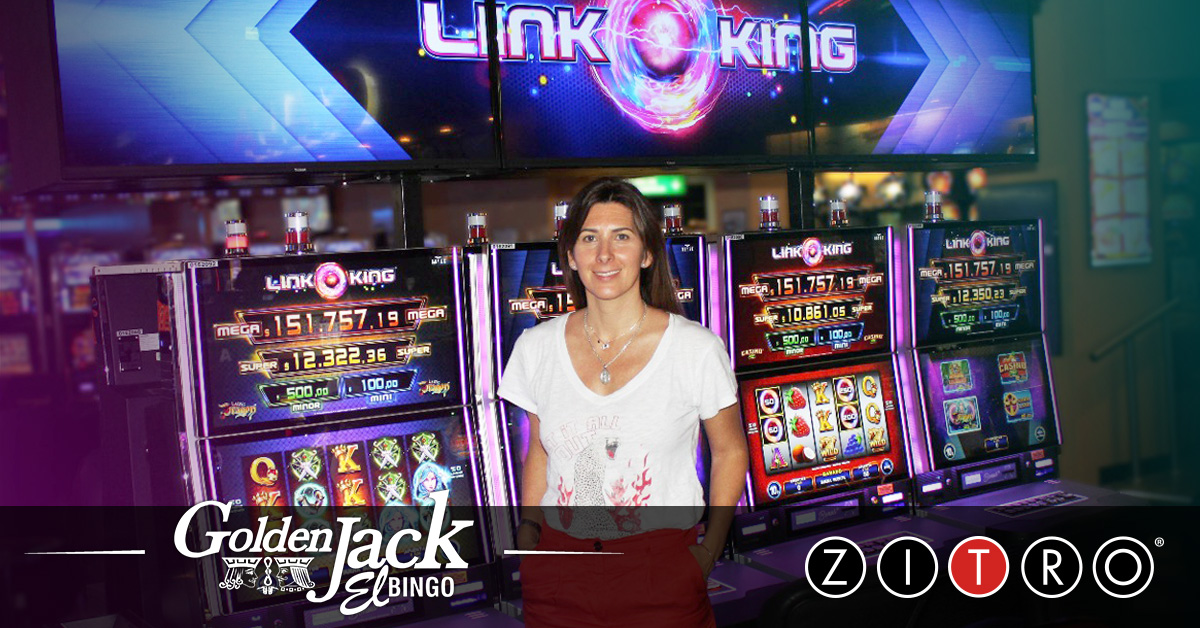 Zitro Games Slot - Link King at Bingo Golden Jack
