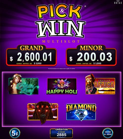 Video Slot - Multigame Standalone - Pick & Win III