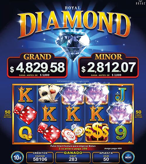 Video Slot - Multigame Standalone - Pick & Win - Royal Diamond