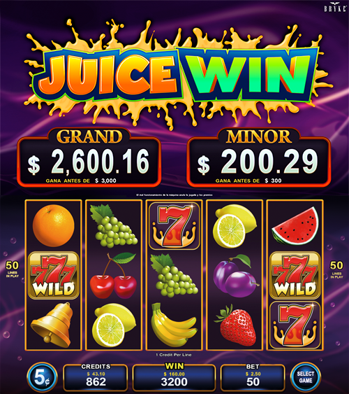 Video Slot - Multigame Standalone - Hot Deal - Juice Win