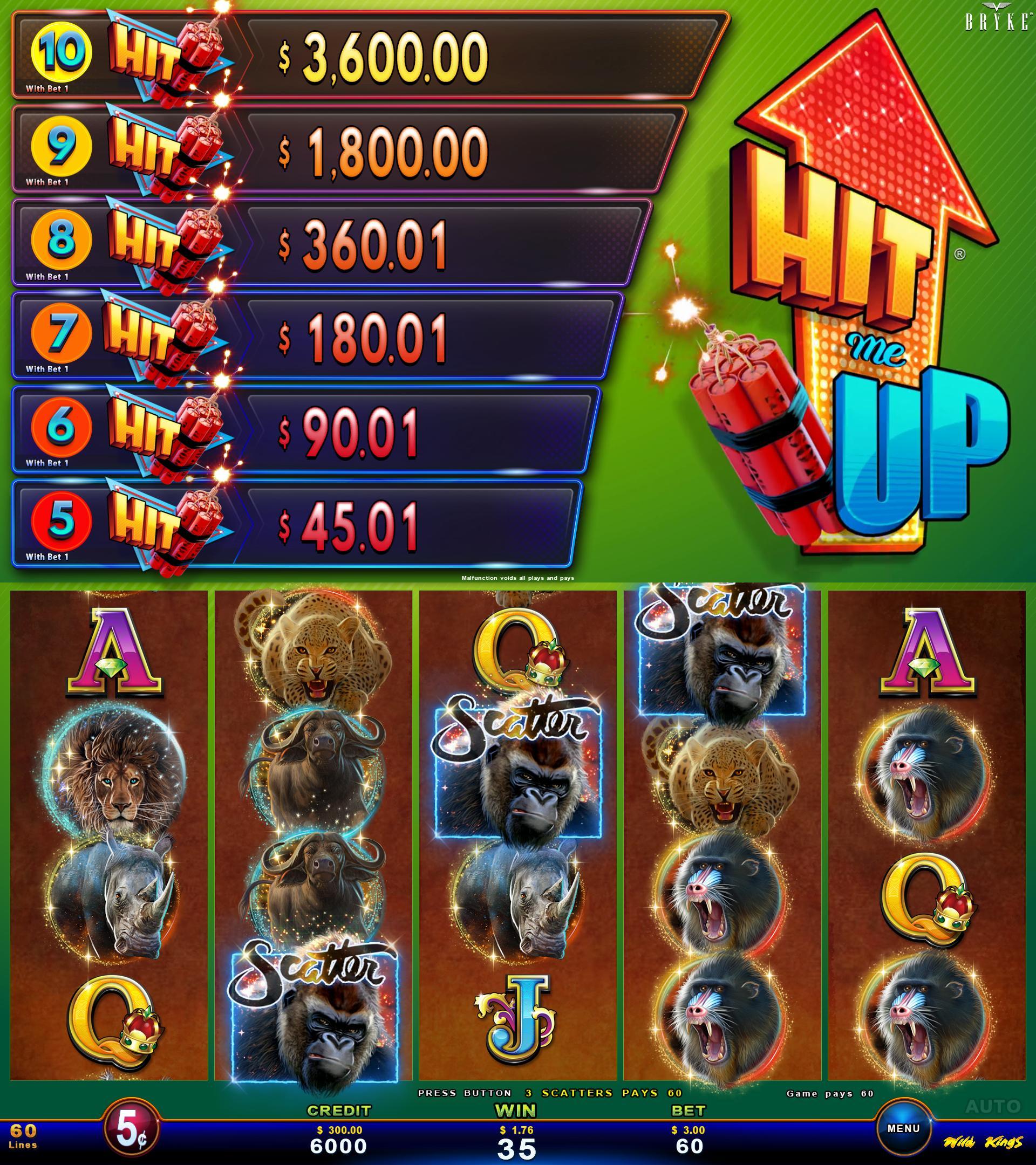 Wild Kings screenshot - Zitro Games