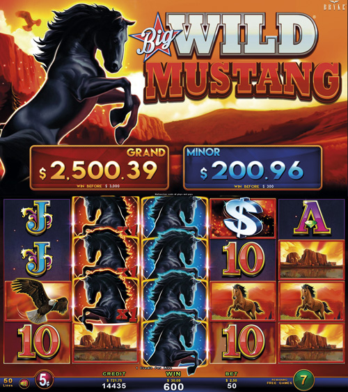 Video Slot - Multigame Standalone - Big Wild Mustang