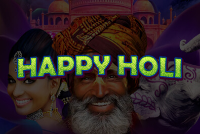 Video Slot - Multigame Standalone - Pick & Win - Happy Holi
