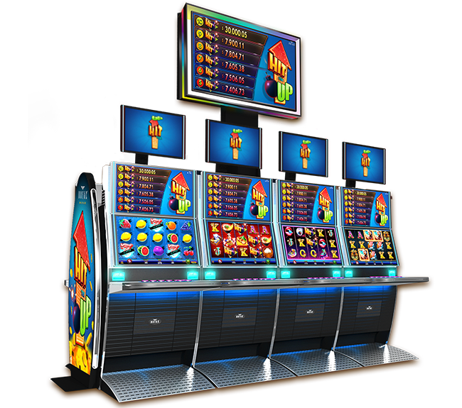 Video Slot - Multigame Panoramic - Hit Me Up