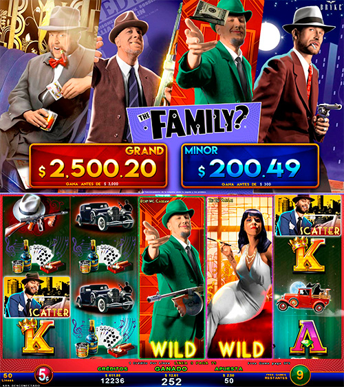 Video Slot - Multigame Standalone - Smart Spins - The Family