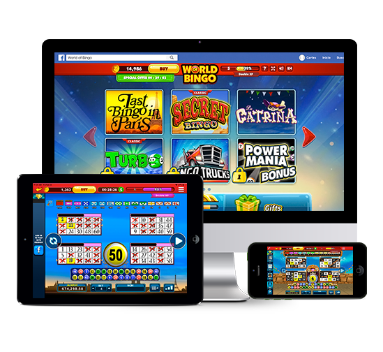 Products & Services - Interactive - Social Gaming - World of Bingo -Zitro Games