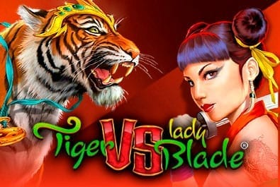 Tiger VS Lady Blade