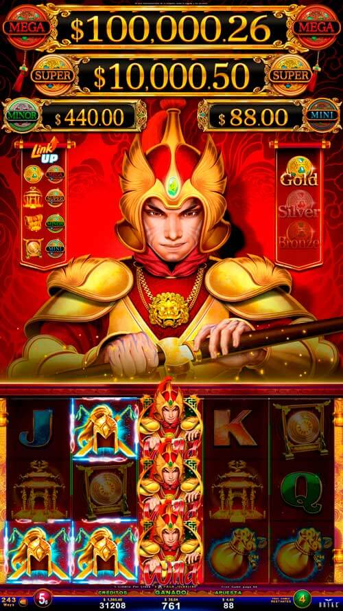 Video Slot - Multigame LAP with Panoramic Sign - Bashiba - Warrior