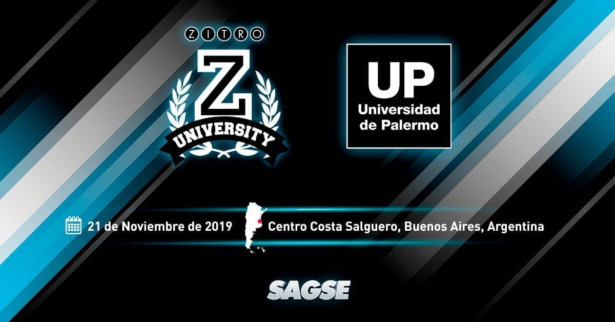 Zitro University will offer a session at SAGSE 2019 with the collaboration of the University of Palermo