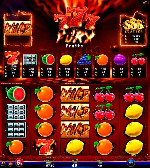 777 Fury Fruits