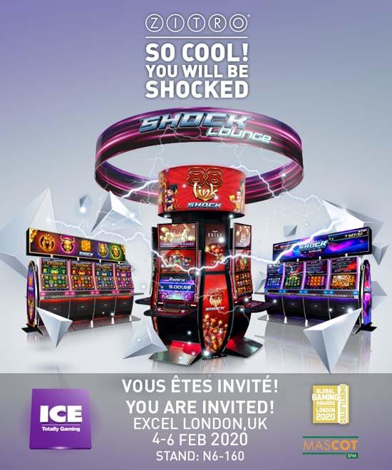 Zitro Games - ICE London 2020