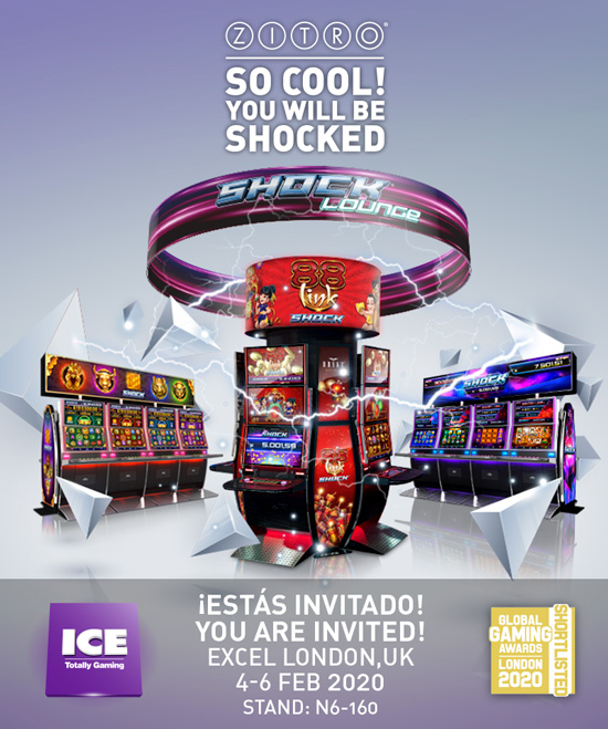 Zitro Games - ICE London 2020