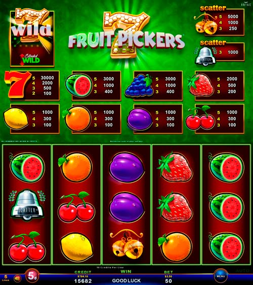 Video Slots - Multigame Standalone - Hot Deal - Fruits Of The Crown